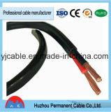 2017 câble plat Australie de PVC du fil SAA d'en cuivre électrique plat de certificat et norme de la Nouvelle Zélande