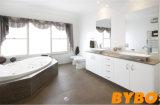 Klassische weiße hohe glatte Bad Vantity Möbel (BY-B-15)