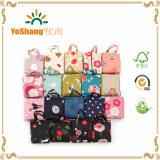Promotie Vriendschappelijke het Winkelen van Eco van de Totalisator van de Polyester Waterdichte Kleurrijke Vouwbare Zak