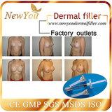 New You Inyectable Acido Hialurónico Dermal Filler para la Formación de la cara, la cirugía plástica nasal, los implantes de mama / cadera Derm Subskin 10ml
