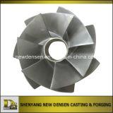 Impeller Bomba de água Produto Casting de aço inoxidável Casting de investimento
