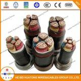 Câble d'alimentation blindé isolé par XLPE de fil d'acier