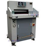 Guillotina de papel hidráulica de H670p, máquina de papel resistente de la guillotina