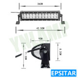 72W 16.7inch Epistar LED IP67 que conduce la barra ligera de la lámpara LED