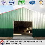 Entrepôt de structure métallique de lumière de toit de tôle d'acier