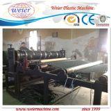 Linha de produção da folha da drenagem da água do HDPE