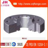Bride d'acier du carbone de soudure du zinc BS4504