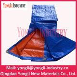Blue Orange 4X5 Meter Waterproof Plastic PE Tarpaulins