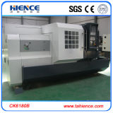 Machine horizontale lourde Ck6180 de tour de commande numérique par ordinateur pour le traitement en métal