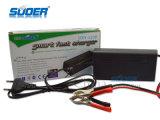 Carregador de bateria rápido esperto quente 12V do carregador de bateria 8A da venda de Suoer com modalidade cobrando trifásica (SON-1208)