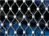 Maglia tessuta della fune metallica di Ss304/316L per la gabbia di uccello 1.2mmx20mmx20mm