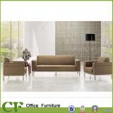 Sofà di cuoio dell'unità di elaborazione di stile di ufficio del salotto differente delle forniture