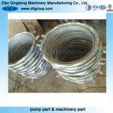 Anel de aço inoxidável personalizado para processamento de peças de usinagem com polimento