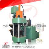 machine à briquettes de charbon de bois hydraulique Sbj-500 (API) automatique