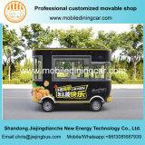 De hete Verkoop Gebraden Vrachtwagen van het Snelle Voedsel van Culetmobile Elctric van de Kip
