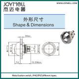 IP67 metal eléctrico Push Button 12mm