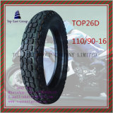 Zonder binnenband, Met lange levensuur, Band 110/9016 van de Motorfiets van ISO Nylon 6pr
