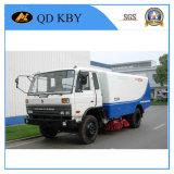 Dongfeng 4X2 170HP Euro3 LHD 8tonsの真空の道の広がりのトラック