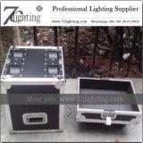 Cas principal mobile fait sur commande de vol de caisse de route d'éclairage du DJ