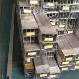 Rechteckiges Aluminiumrohr 6082 T5 mit Größe 350mm*350mm*32mm