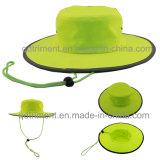 100% полиэстер ткань из микроволокна для использования вне помещений Sport Red Hat (TMBH ковша0793)