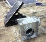 ventilatore di aria centrifugo alimentato solare 20W per il soffitto con la batteria di litio incorporata di 30W 9.6ah (SN2016018)