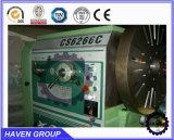 Máquina universal do torno CS6266C/1000, máquina de giro horizontal da base da abertura