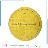 Material de fibra de vidrio cuadrado SMC Tapa de registro