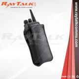 Radio à deux voies de cas en cuir pour Kenwood/radios Motorola/Hytera