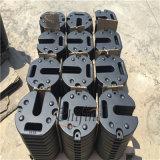 Kundenspezifischer Eisen-Sand-Gussteil-Kran-Gegengewicht