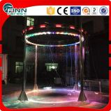 Indoor o Ooutdoor prefabbricato LED Digital Water Curtain Fountain