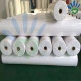 Tissu non tissé en PP blanc en rouleau pour la literie et Hometextile