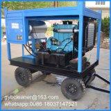 30квт дизельного двигателя воды высокого давления песок дробеструйная очистка машины ржавчины Удаление краски машины
