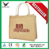 protection environnementale promotionnels personnalisés Eco sac de jute avec poignée
