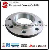 ANSI forjadas de aço DIN de deslizamento de fundição na flange do tubo