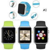 2016 SIMのカードスロット(A1)が付いている最も新しいBluetoothのスマートな腕時計の電話