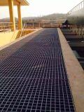 FRP Grade de plástico Grade de piso de fibra de vidro / Grade de drenagem de fibra de vidro
