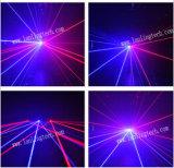 Laser romântico do estágio do disco do casamento do Rb para o clube noturno/partido