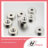 N35 de Permanente Magneet van de Ring van het Neodymium NdFeB/met Super Macht