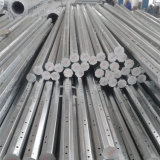 Poteau en acier polygonal galvanisé en métal électrique polygonale en acier