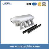 Pezzo fuso di alluminio dell'OEM per il collettore di presa d'argento