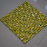 Schönes gelbes Glasmosaik, Fabrik-Glasmosaik-Fliese für Wand