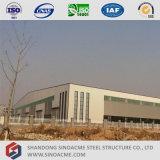 Construction d'entrepôt de structure de bâti en métal de Pré-Ingénierie