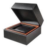 腕時計(Ys109)のための贅沢および品質の革ボックスプラスチックケース