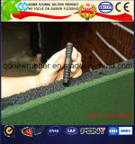 Hohes Auswirkung-Kissen-Gummifußboden-Fliese
