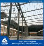 Prefab здание стальной структуры для мастерской