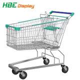 高品質のスーパーマーケットのショッピングトロリーカート(工場)
