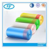 Sac d'ordures coloré par HDPE de chaîne de caractères d'attraction
