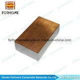 Feuille plaquée bimétallique acier-cuivre