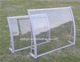 Écran fixe de porte d'entrée de plastique décoratif en aluminium
